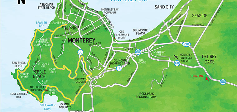 Monterey Bay Map