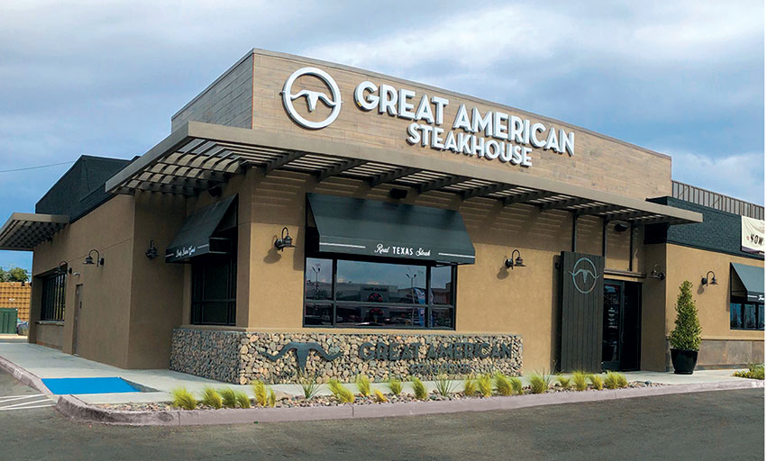 Great American Steakhouse El Paso Texas